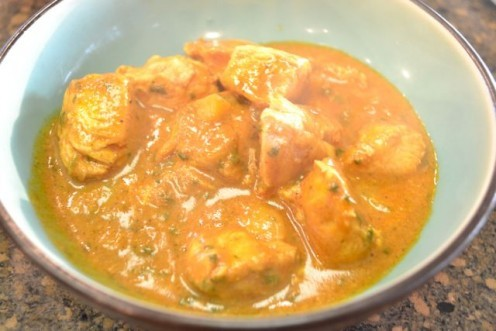 Sweet & Sour Balti Chicken...a rich and soothing dish.