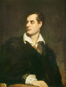 Lord Byron in 1824