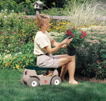 Gardening Seats on Wheels