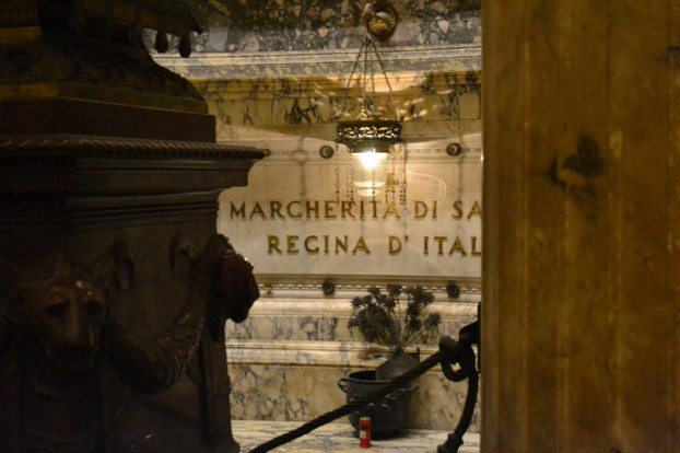 Queen Margherita's Tomb in the Pantheon in Rome