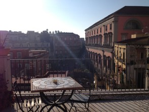 Naples rooftop view