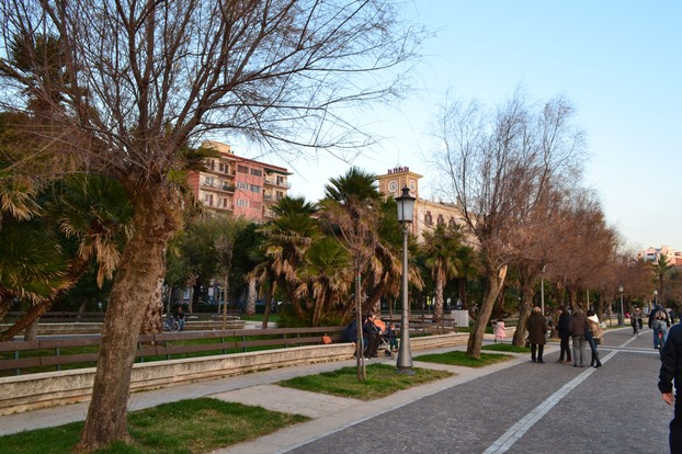 Salerno offers a pleasant climate even in Wintertime