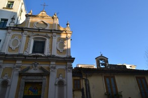 Another old church in Salerno...one of the sunniest cities of Italy!