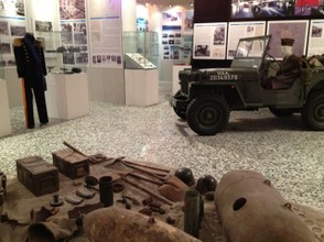 Learn about World War II history in the fascinating exhibits of the  Museum of Landing and Salerno Capital.