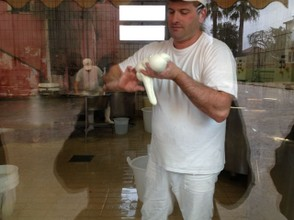 Just south of Salerno, water buffalo farms dominate the region to produce their famous buffalo mozzarella.