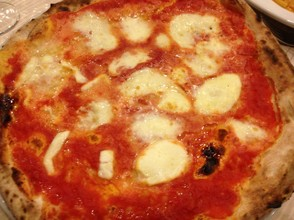 Of course, with so much delicious mozzarella produced in the region, pizza is a major specialty!