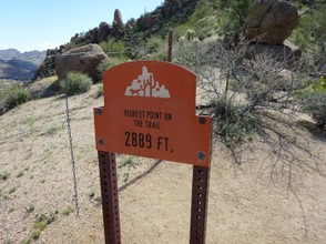 High Point, Pinnacle Peak Trail
