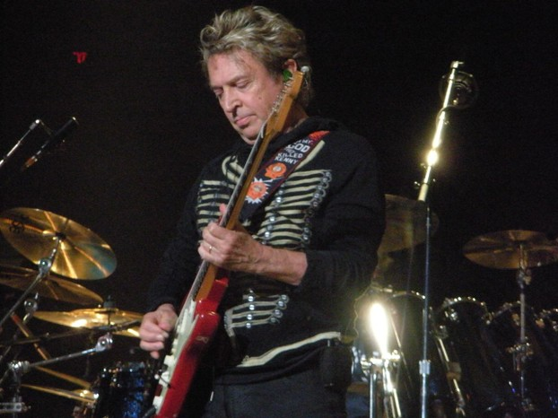 Andy Summers on stage, August 2008