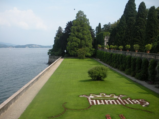 The gardens of Isola Bella on Lake Maggiore, Italy.