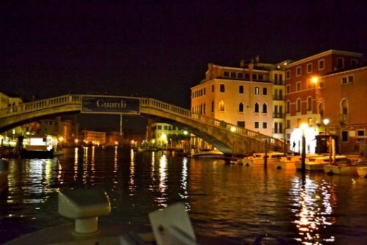 Tour the Grand Canal at night and see Venice at its finest