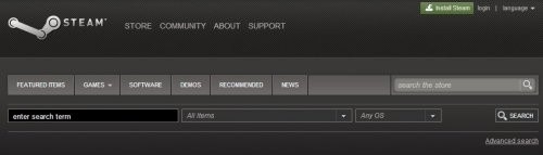 steam-search