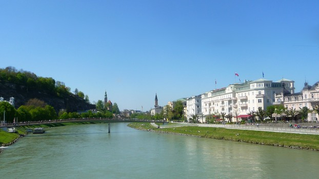 Banks of the Salzach River