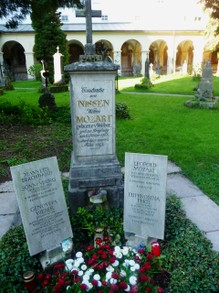 Mozart Family Headstones