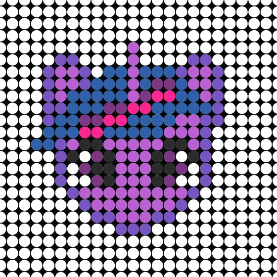 photograph regarding Pony Bead Patterns Free Printable known as My Tiny Pony Perler Bead Habits