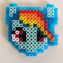 Finished Rainbow Dash front.