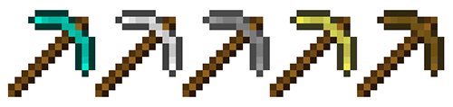 Minecraft Pickaxes