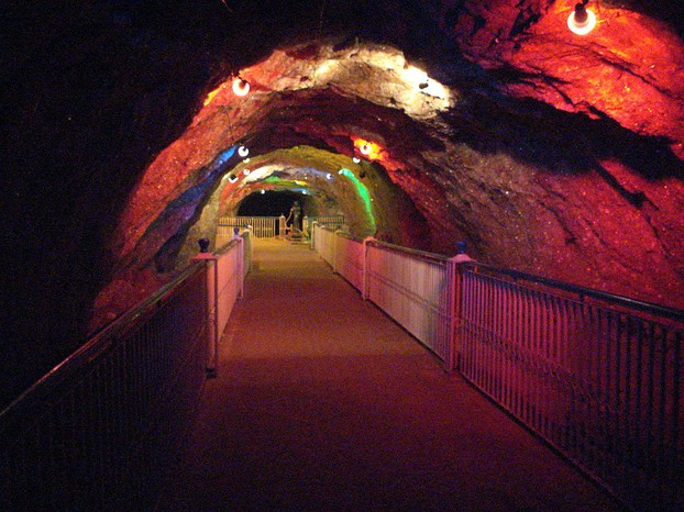 Khewra Salt Mines, Jhelum district, northeastern Punjab province, eastern Pakistan
