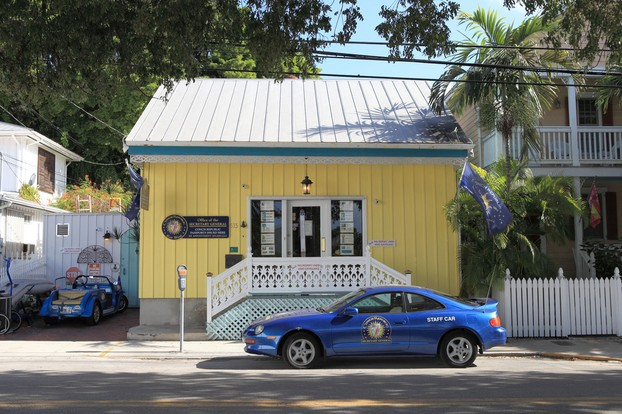 Office of Secretary General of Conch Republic, Key West, Florida