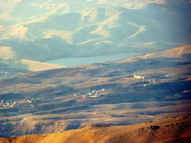 Sea of Galilee from Mount Nebo, northwestern Jordan