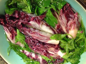 "Marinated radicchio from ""Venetian Taste""."