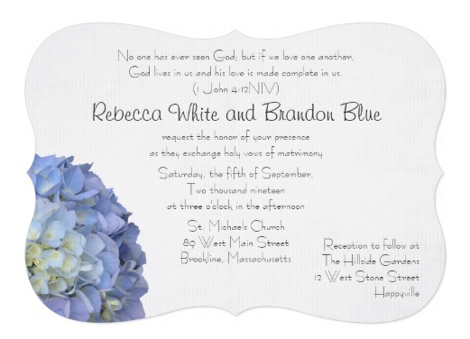 Scripture to Read at Weddings – Christian Wedding Invitation Wording Verses