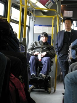 The Americans with Disabilities Act has helped people with disabilities to have access to more public places.