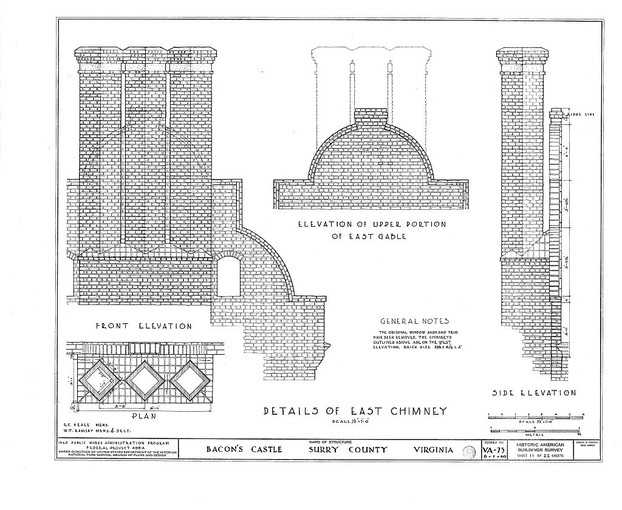 1940 Public Works Administration Program: Historic American Buildings Survey (HABS)