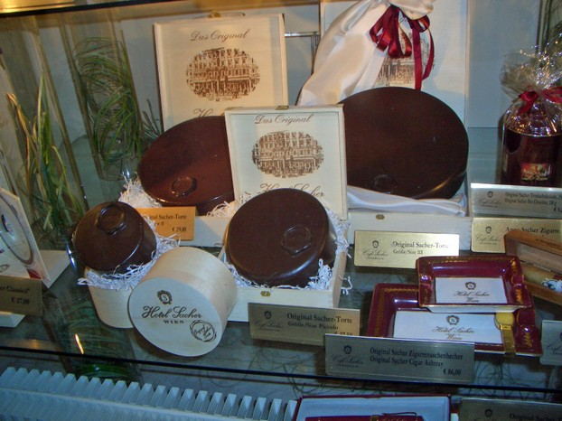 A Window Full of Heaven - Sacher Torte