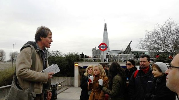 One of London Walk's excellent and experienced guides