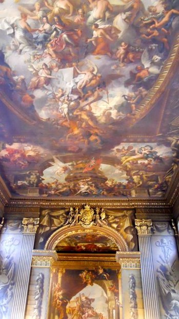 James Thornhill's Painted Hall in Greenwich