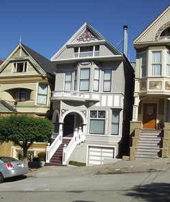 Janis Joplin's House in Haight Ashbury