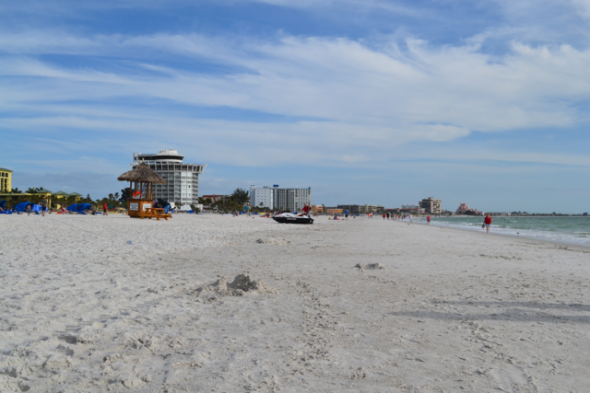Hotels and attractions along St. Pete Beach