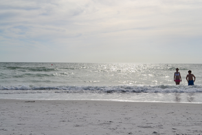 Take a dip in the waters at St. Pete Beach!