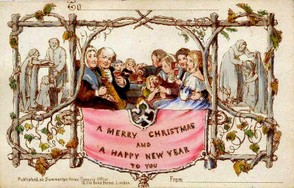 First Christmas Card - 1843