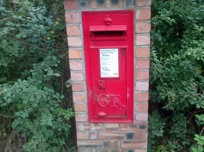 King George post box