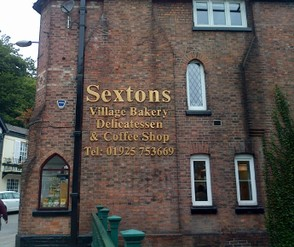 Sexton's tea shop
