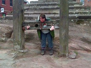 Me in the stocks
