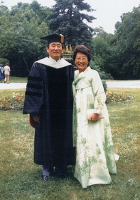 President and Mrs Kim at UTS