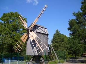 a swedish windmill; Skansen