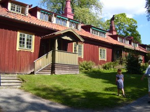 a Swedish house at Skansen