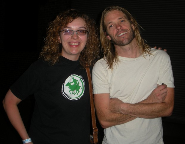 Meeting Taylor Hawkins