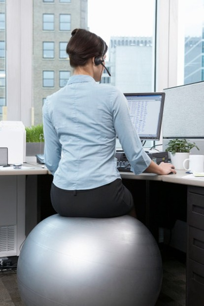CalCore Professional Strength Swiss Ball for Office