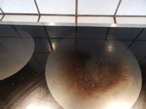 Dirty Ceramic Glass Cooktop