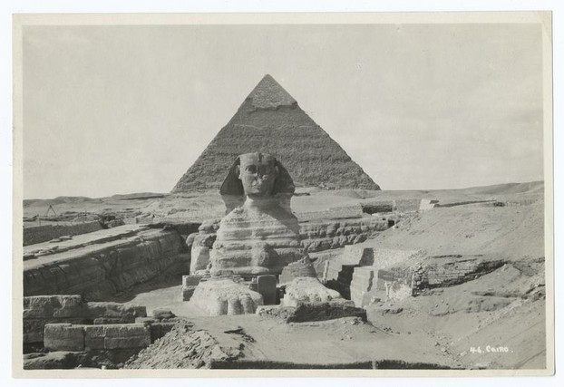 Photographs and prints of Egypt, 1860s-1920s.