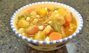 Mexican vegetable sop