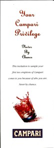 The Offer: The Campari Privilege Card