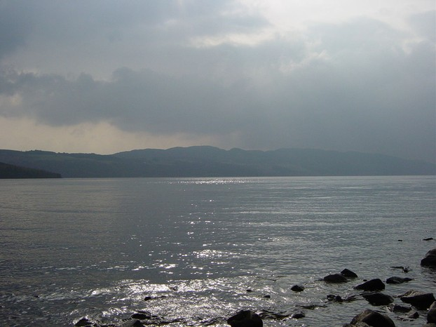 Mist hangs over Loch Ness