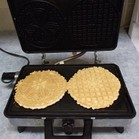 Pizzelle are ready