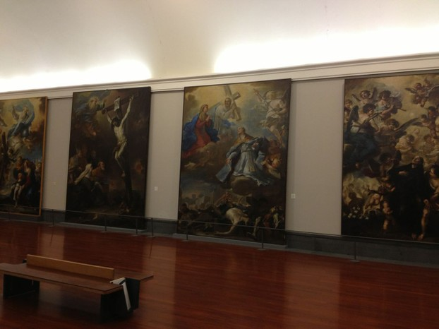 Awe-inspiring works by Luca Giordano at Museo di Capodimonte.