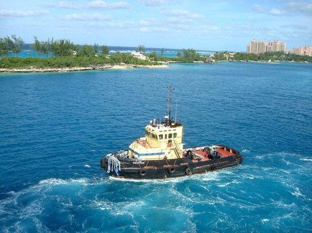 Tugboat in Nassau, The Bahamas